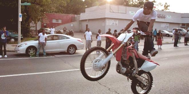 Мотоцикл как спортинвентарь где можно ездить