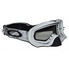 Очки для мотокросса OAKLEY Crowbar Solid белые матовые / прозрачная