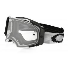Очки для мотокросса OAKLEY Airbrake Solid белые матовые / прозрачная