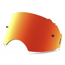 Линза OAKLEY Airbrake PLUTONITE оранжевая Iridium одинарная