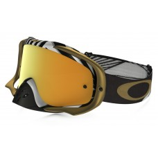 Очки для мотокросса OAKLEY Crowbar J. Herlings Series / желтая 24K Iridium