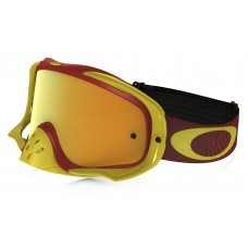 Очки для мотокросса OAKLEY Crowbar Shockwave красные-желтые / желтая 24K Iridium