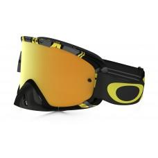Очки для мотокросса OAKLEY O-Frame 2.0 Intimidator серые-желтые  / желтая 24K Iridium