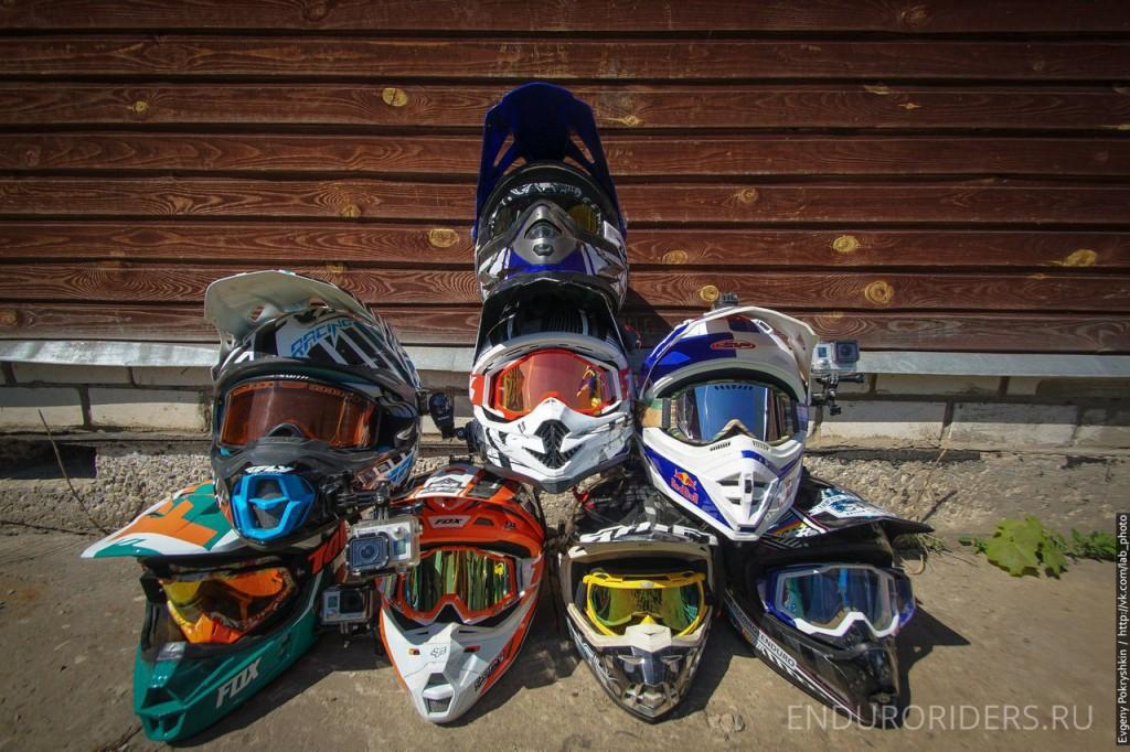 эндуро шлем