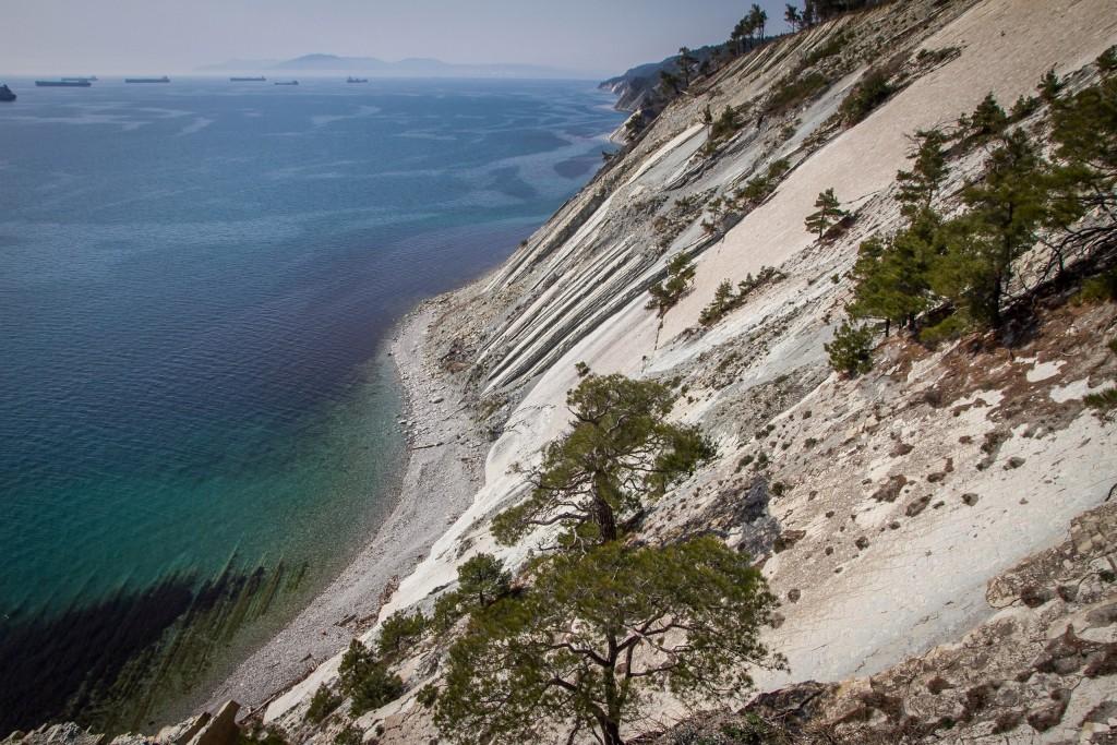 Вид на море Геленджик