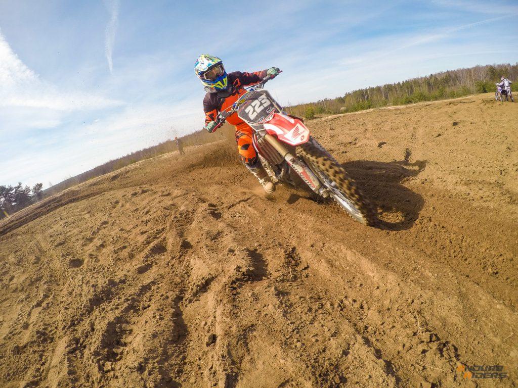Honda crf 250 motocross
