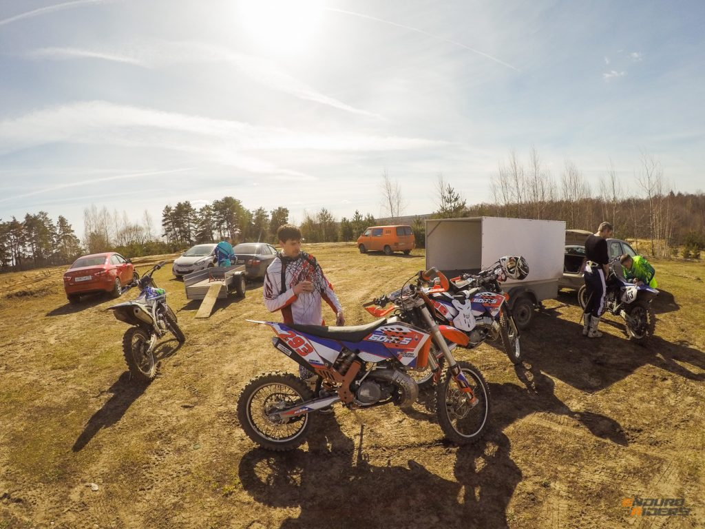 тренировка по мотокроссу во Владимире