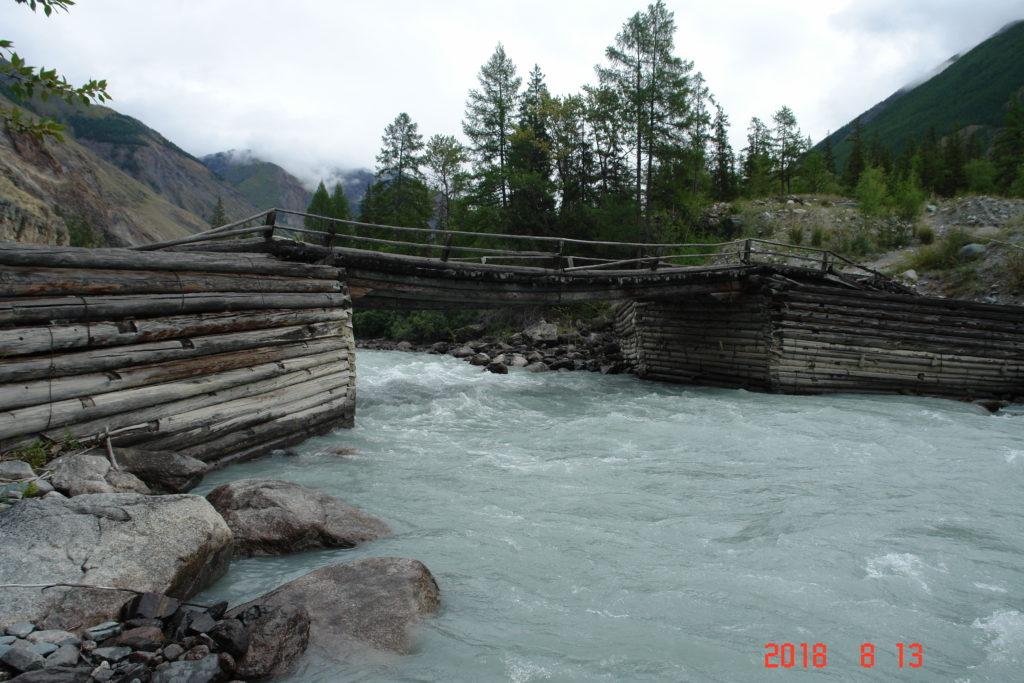 мост Карагем Алтай