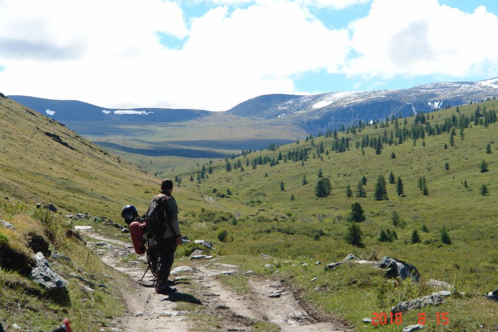 Алтай долина перевал