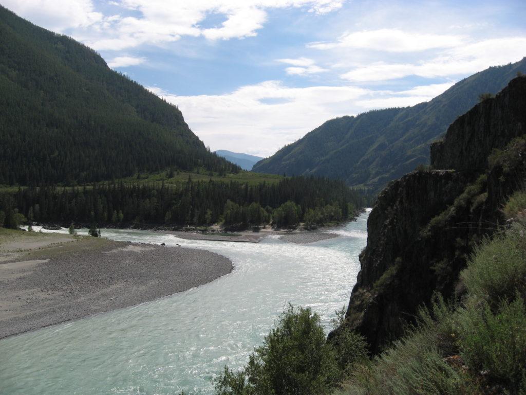 Алтай реки Катунь Аргут