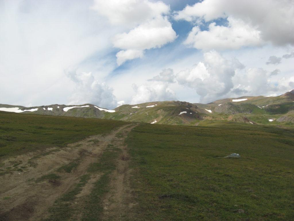 Дорога на Карагемский перевал